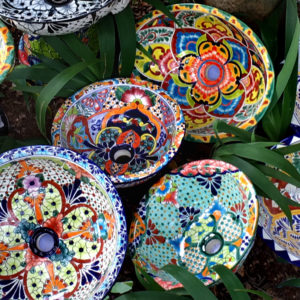 TALAVERA CERAMIC BASINS