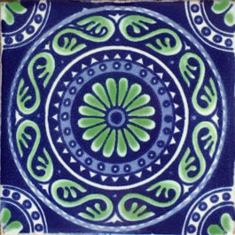 Hand-painted Mexican Talavera Tiles